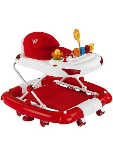 BabyHope Bebek Tobby 219 Salla Yürüteç Kırmızı